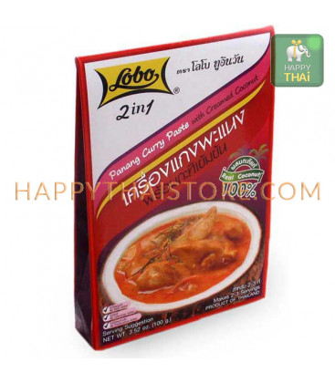 Lobo Panang Curry Paste, 100 g