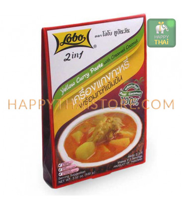 Lobo Yellow Curry Paste, 100 g
