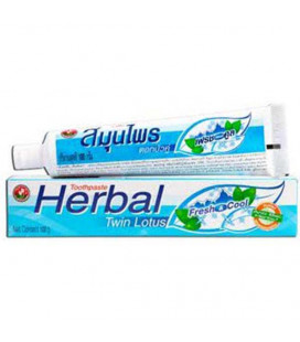 Twin Lotus Herbal Toothpaste Fresh & Cool, 100 g