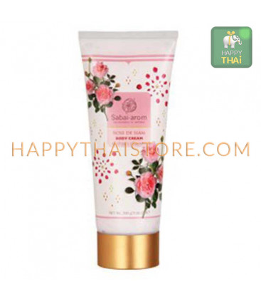 Sabai Arom Rose de Siam Body Cream, 200 g