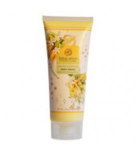 Sabai-arom Siamese Blossoms Body Cream, 200 g