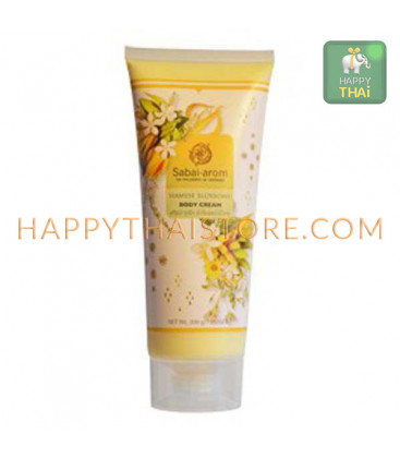 Sabai Arom Siamese Blossoms Body Cream, 200 g