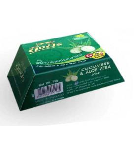 IngOn Soap Cucumber & Aloe Vera, 85 g