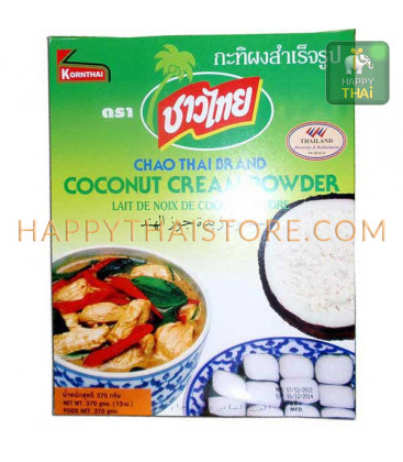 [Kornthai] Coconut cream powder Chao Thai, 370 g