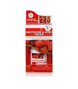 [BeautyLine] Whitening and Acne Cream with fruit acids, 50 g