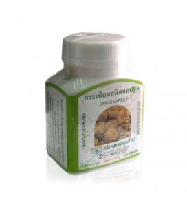 Thanyaporn Herbs Капсулы Garlic, чеснок для лечения желудочно-кишечных заболеваний, 60 г