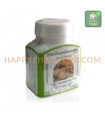 [Thanyaporn Herbs] Капсулы Garlic, чеснок для лечения желудочно-кишечных заболеваний, 60 г
