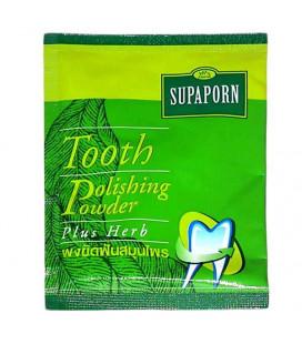 Supaporn Зубной порошок отбеливающий, 25 г