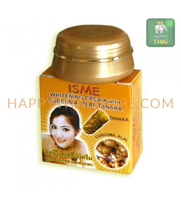 ISME Whitening Cream with Curcuma, Plai, Tanaka, 3 g