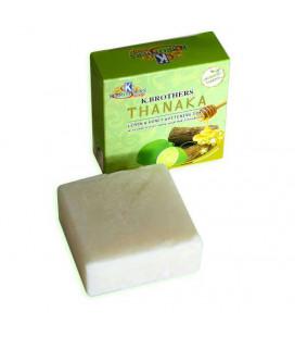 K. Brothers Отбеливающее мыло с танакой, лимоном и медом, 60 g