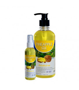 Banna Pineapple Massage Oil, 450 ml