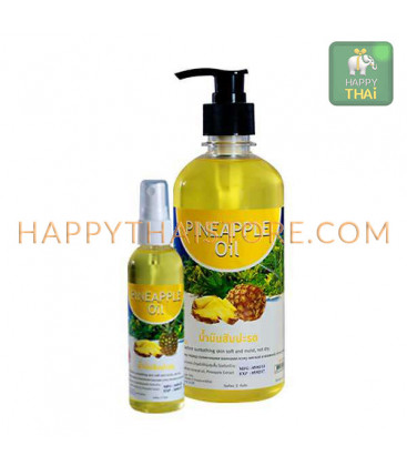 Banna Pineapple Massage Oil, 450 ml