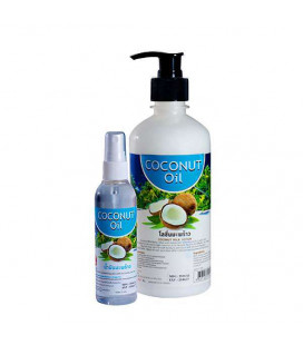 Banna Coconut Massage Oil, 450ml, 100 ml