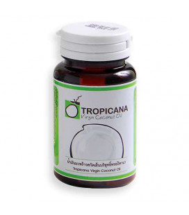 Tropicana Extra Virgin Coconut Oil Capsules, 30 g