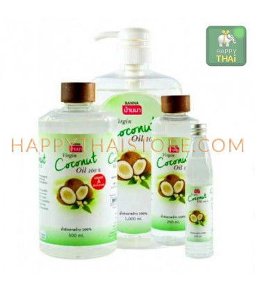Banna Coconut Oil Cold press