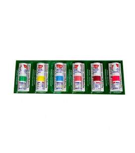Poy-Sian Herbal inhaler for colds and dizziness, 6 pcs