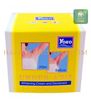 YOKO Under-Arm Whitening Cream and Deodorant 50g