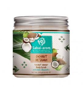 Sabai-apom Coconut de Samui Body Scrub, 230 g