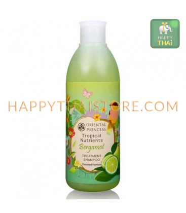 Oriental Princess Tropical Nutrients Bergamot Treatment Shampoo Enriched Formula, 250 ml