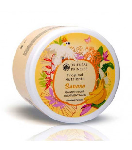 Oriental Princess Tropical Nutrients Banana Advanced Hair Treatment Mask Enriched Formula 160 g