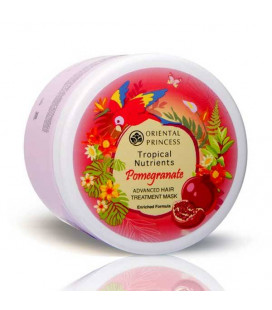Oriental Princess Tropical Nutrients Pomegranate Advanced Hair Treatment Mask Enriched Formula, 160 g
