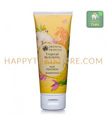 Oriental Princess Лечебное средство с бананом для сухих и поврежденных волос, 200 гр