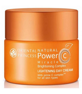 Oriental Princess Natural Power C Miracle Brightening Complex Lightening Day Cream, 50 g