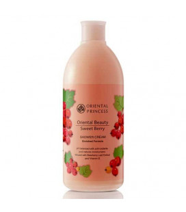 Oriental Princess Sweet Berry Shower Cream, 400 ml