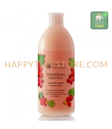ORIENTAL PRINCESS Крем для душа с ароматом сладких ягод, 400 мл