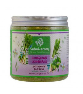"Sabai-arom Shining Homegrown Lemongrass ""Soft' n Smooth"" Body Scrub, 230 g"