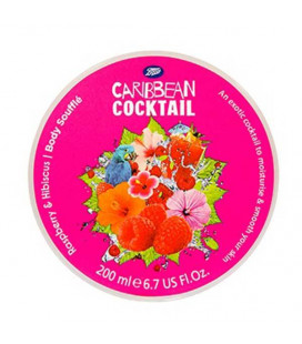 Boots Caribbean Cocktail Martini Body Souffle - Raspberry & Hibiscus 200 ml