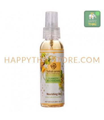 Sabai-arom Питательное масло-спрей для тела Серия Сиамские цветы, 100 мл