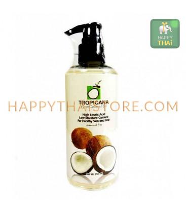 Tropicana Extra Virgin Cold press Coconut Oil 100% pump, 250 ml