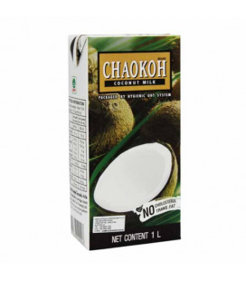 Chaokoh 100% Coconut Milk, 1000 ml