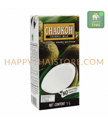 Chaokoh 100% Coconut Milk, 500 ml