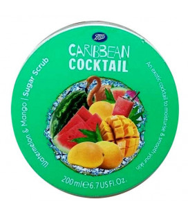 Boots Caribbean Cocktail Barbados Sugar Scrub - Watermelon & Mango 200 ml