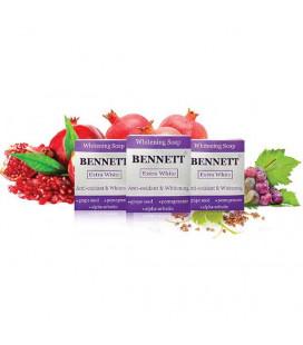 Bennett EXTRA WHITE ANTI-OXIDANT & WHITENING SOAP, 130 g