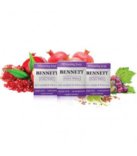 Bennett Extra White отбеливающее мыло, 130 г