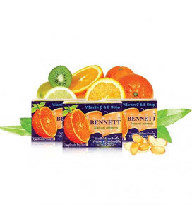Bennett Natural Extracts Vitamin C&E Soap, 130 g