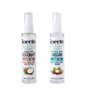 Inecto Увлажняющее масло для сухих поврежденных волос, 100 мл