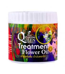 Queen Perfect Маска для волос с цветочными маслами, 500 мл, 500 г