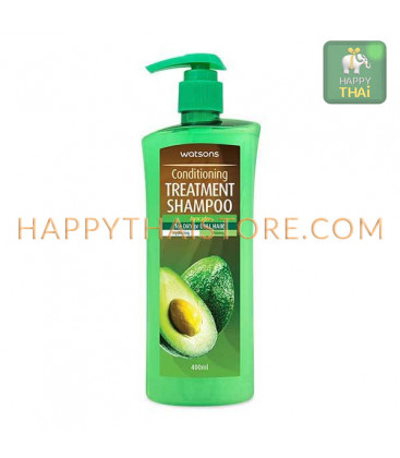 Watsons Conditioning Treatment Shampoo Avocado 400 ml.