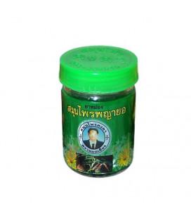 Kongka Herb Зеленый бальзам от болей мышц и суставов, 50 мл