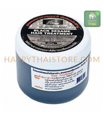 N.T.Group Маска для волос из черного кунжутного семени, спирулины и витамина Е, 350 мл
